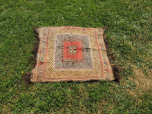 "Square Turkish kilim ""Sofrah"" - bosphorusrugs  - 4"