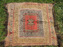 "Square Turkish kilim ""Sofrah"" - bosphorusrugs  - 5"