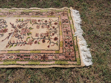 Pastel Wool Turkish Area Rug with Bargain Price