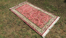 ON SALE Circa 1970's Turkish Area Rug with Floral Patterns