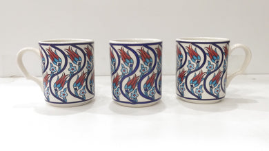 3 Pieces Ceramic Mugs SM-007
