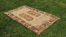 "Brown Turkish Carpet ""Maden"" - bosphorusrugs  - 1"