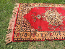 1970's Vintage Red Turkish Carpet