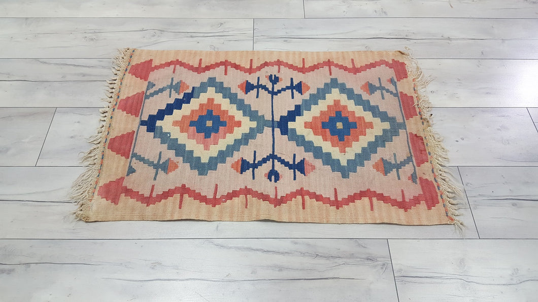 Tan Color Kilim Rug