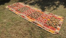 Colorful kilim rug Kayseri - bosphorusrugs  - 1