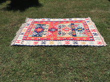 Silk Kayseri Kilim Rug - bosphorusrugs  - 3