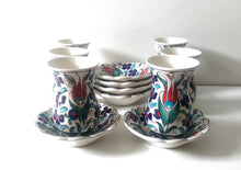 Ceramic Turkish Tea Set 002
