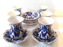 Ceramic Turkish Tea Set 003