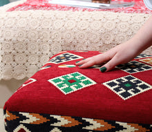 "Kilim Bench Lydia 16,5"" x 16,5"" x 35,8"" inches"