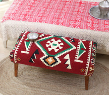 "Kilim Bench Phrygia 16,5"" x 16,5"" x 35,8"" inches"