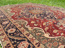 Medallion Turkish Kayseri area rug - bosphorusrugs  - 8