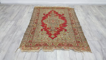 Vintage Turkish Rug Oushak