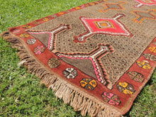 Vintage Turkish Kars carpet - bosphorusrugs  - 9