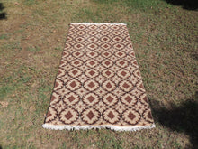 Undyed Turkish Area Rug with Natural Wool Colors
