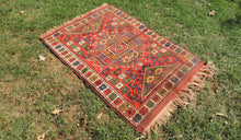 Nomadic Turkish Area Rug with Lovely Details