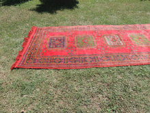 Red Turkish runner rug - bosphorusrugs  - 4