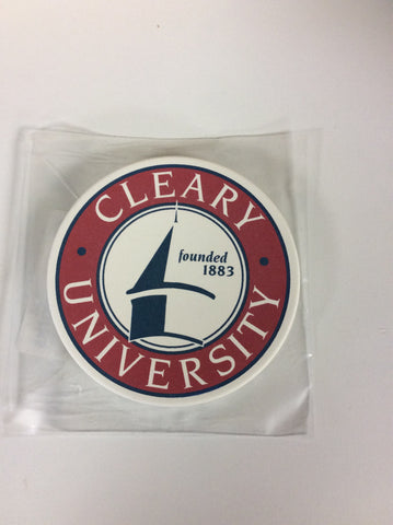 Cleary University Coaster