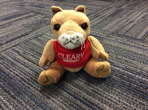 Cougar Plush Beanie Cleary Cougars Den