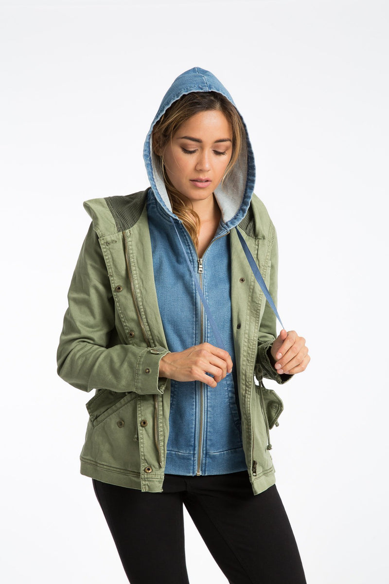 Sadie Twill Anorak Jacket - Marrakech Clothing