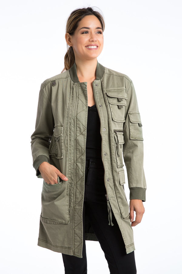 Molli Long Cargo Jacket - Marrakech Clothing