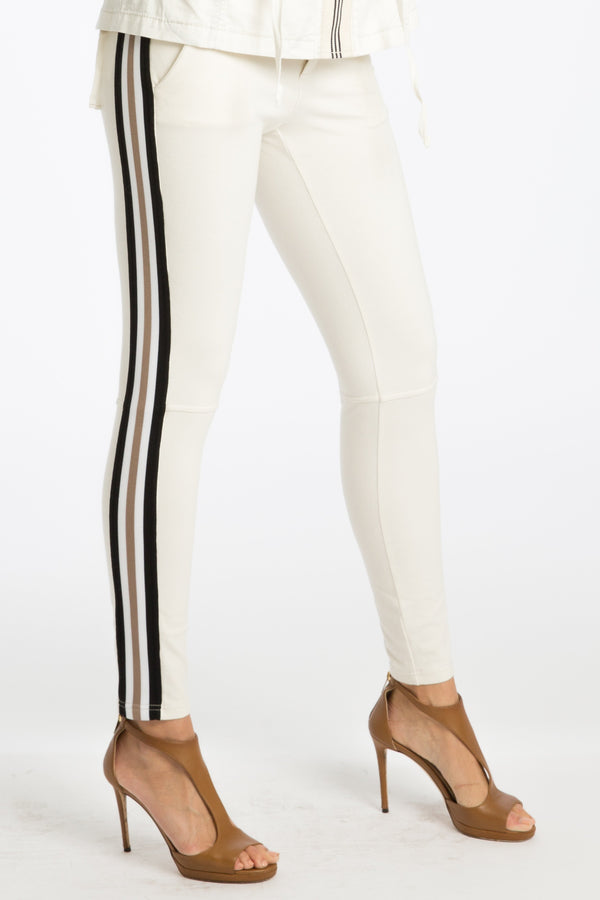 Tamy Track-Striped Leggings - Marrakech Clothing