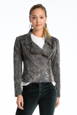 Marni Scuba Suede Jacket - Marrakech Clothing