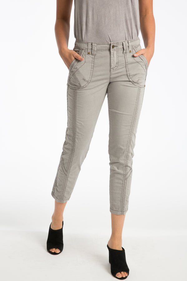 Harietta Stretch Poplin Pant - Marrakech Clothing