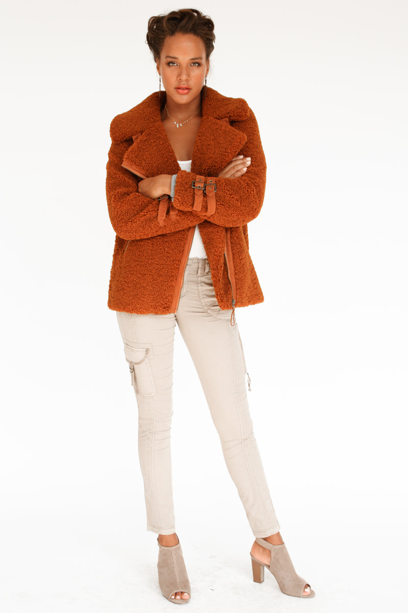 Gaella Sherpa Coat - Marrakech Clothing