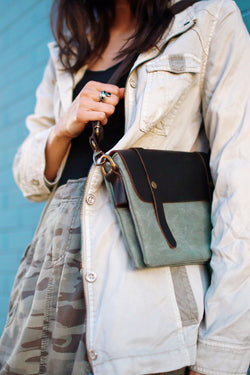 Cala Leather Crossbody Bag - Marrakech Clothing
