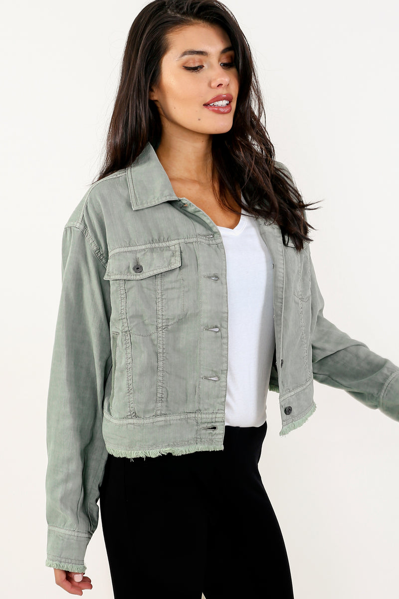 Michele Lightweight Tencel Jacket - Marrakech Clothing