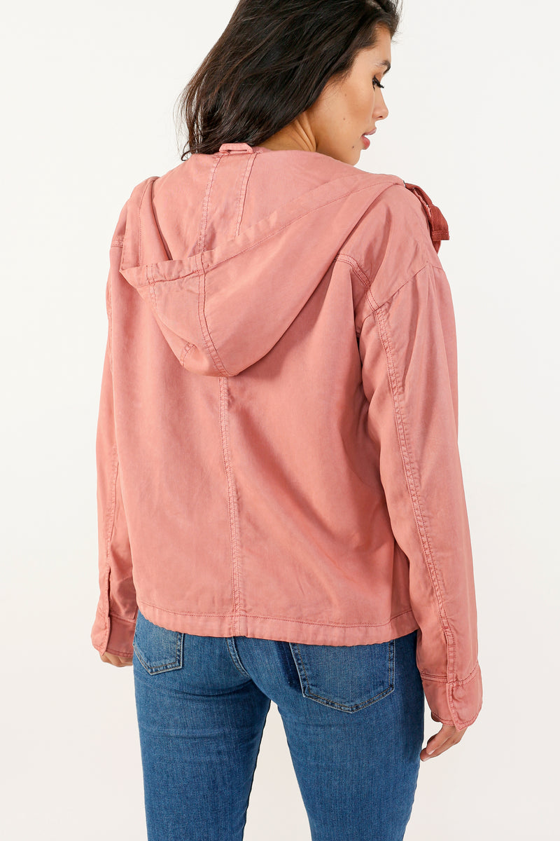 Madison Tencel Hooded Jacket - Marrakech Clothing