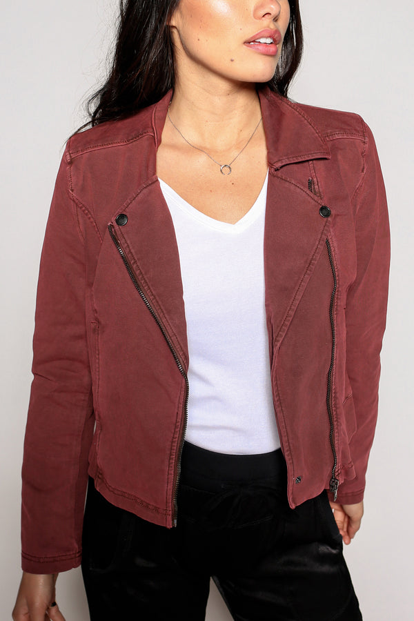 Monica Freeway Moto Jacket