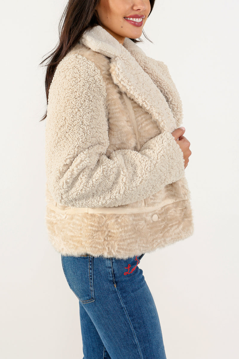 Thea Sherpa Jacket - Marrakech Clothing