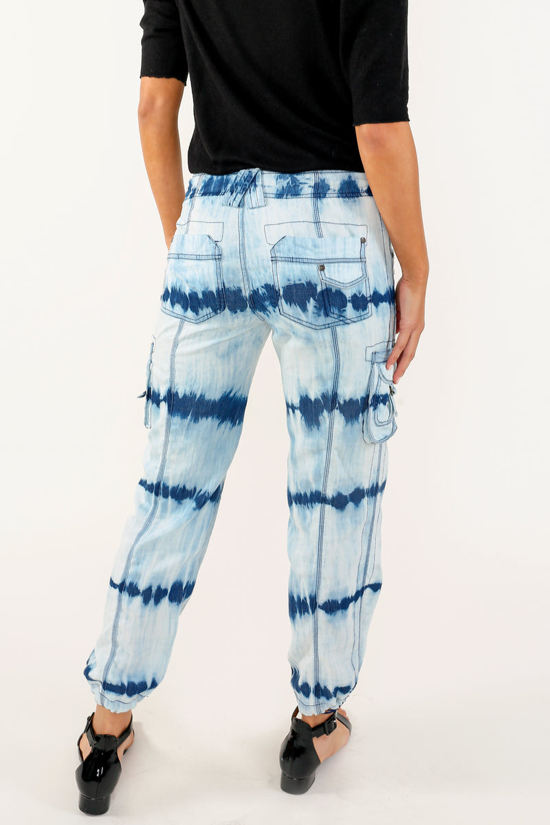 Ella Printed Cargo Pant - Marrakech Clothing