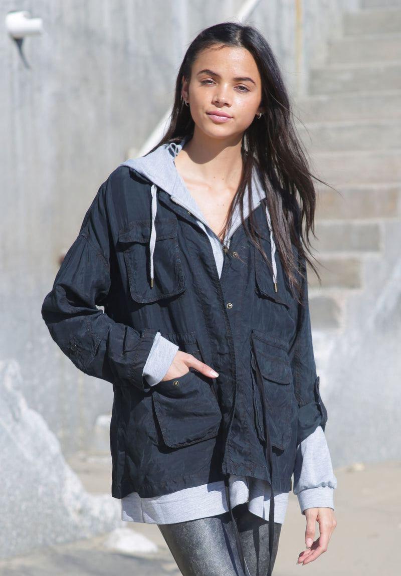 Star Anorak Utility Jacket - Marrakech Clothing