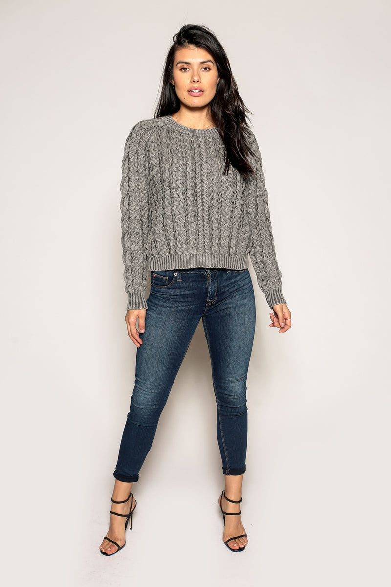 Sarah Cable Knit Sweater - Marrakech Clothing