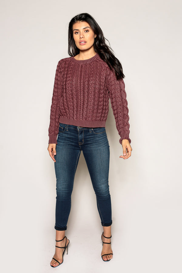 Sarah Cable Knit Sweater