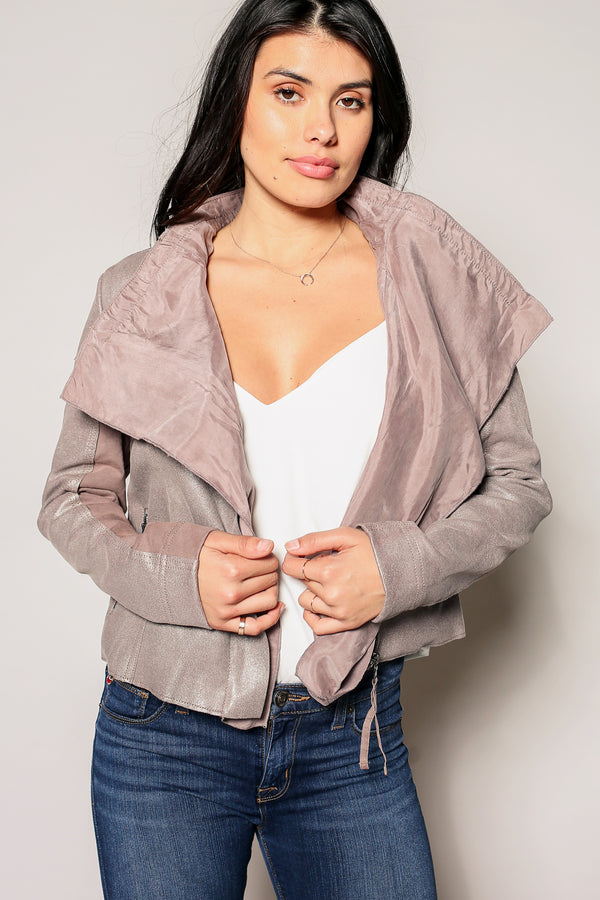 Scarlett Waterfall Moto Jacket
