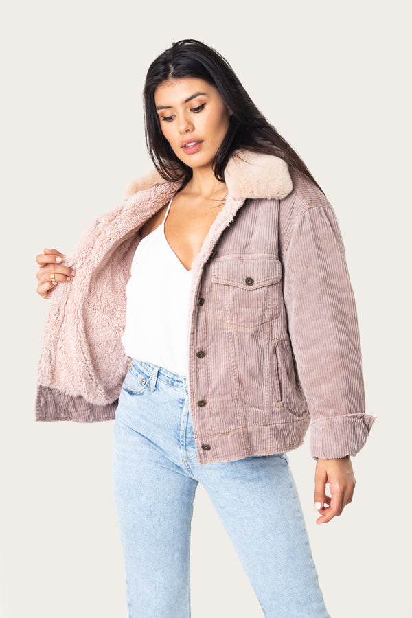 Margot Corduroy Trucker Jacket - Marrakech Clothing