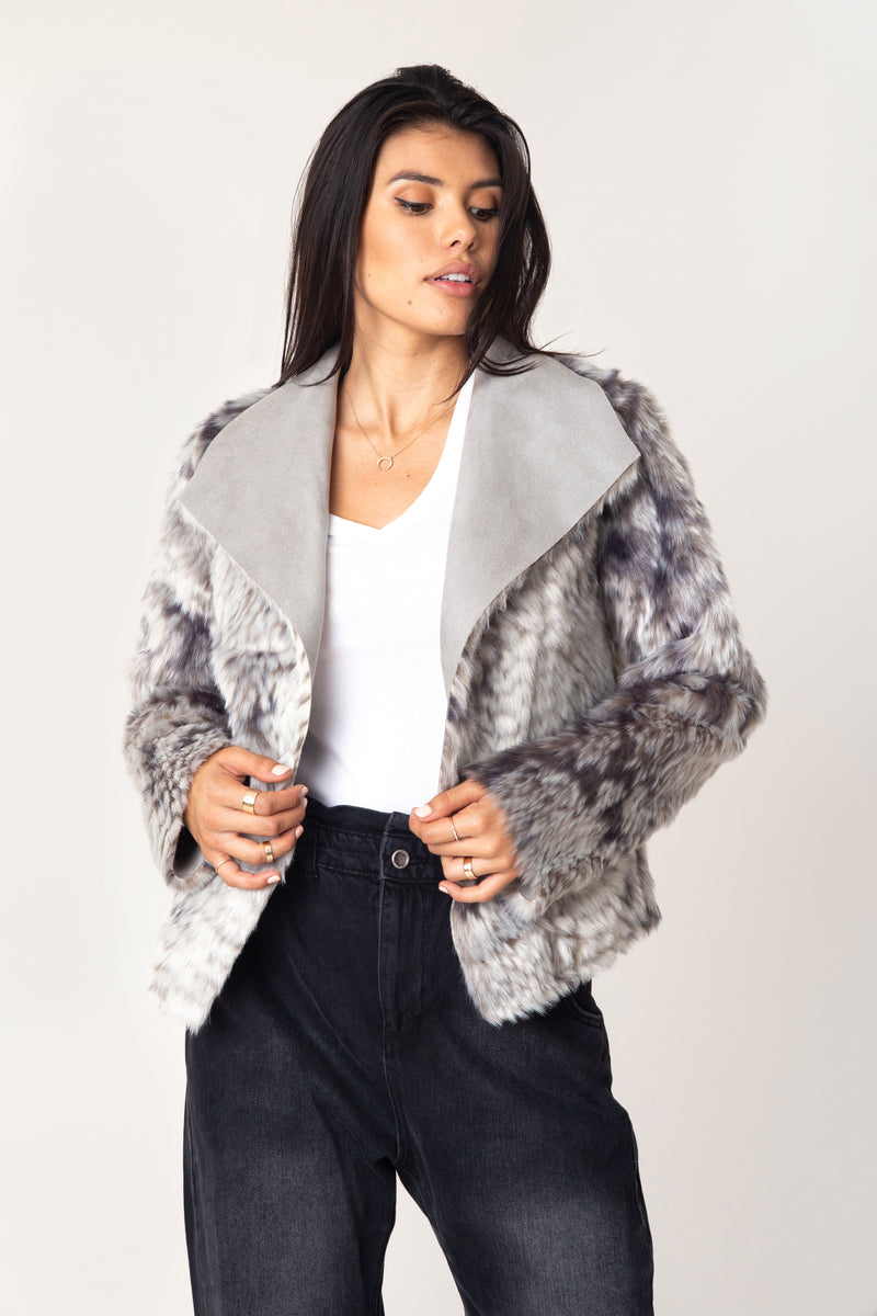 Noa Reversible Moto Jacket - Marrakech Clothing