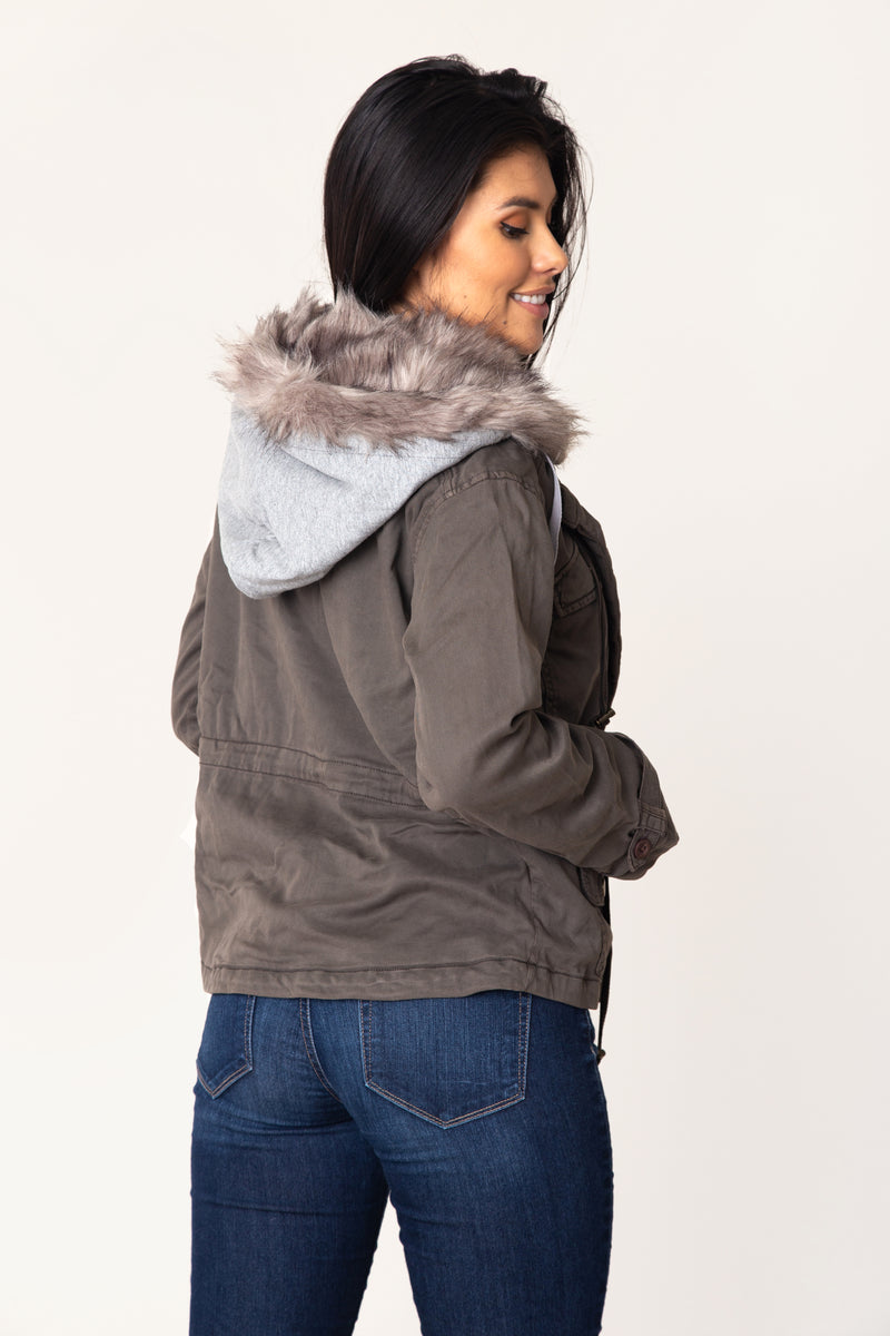 Marana Faux Fur Jacket - Marrakech Clothing