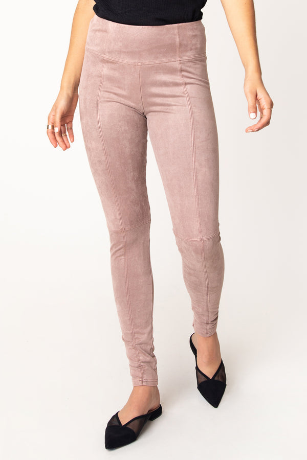 Nara Suede French Terry Legging
