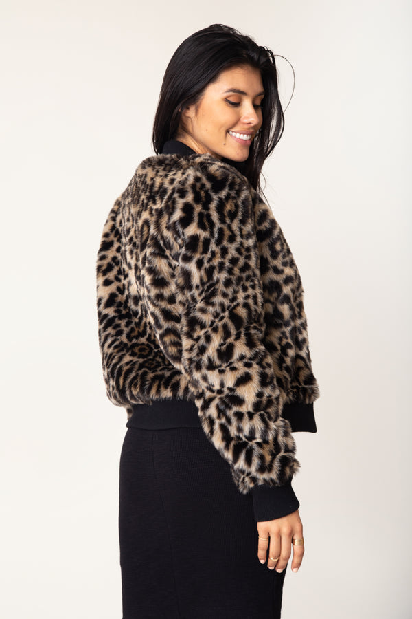Milena Faux Fur Jacket - Marrakech Clothing