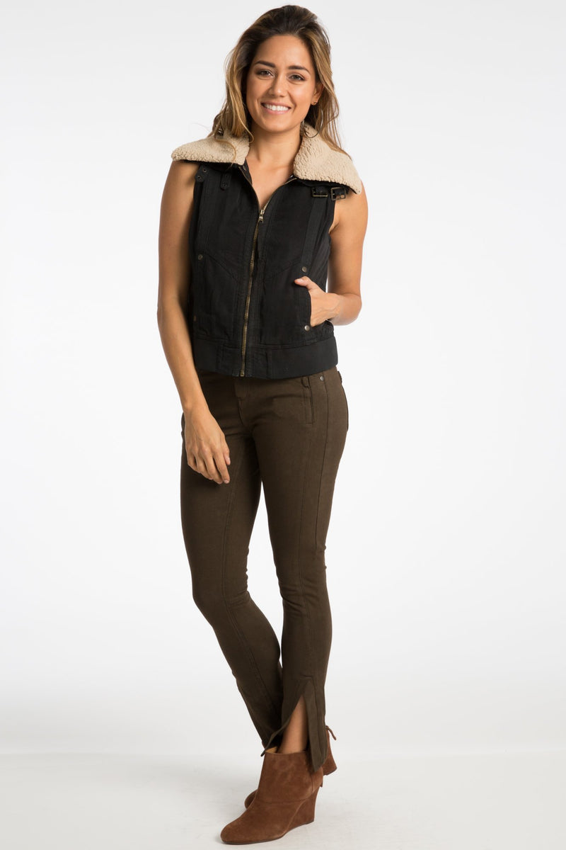 Dean Sherpa Vest - Marrakech Clothing