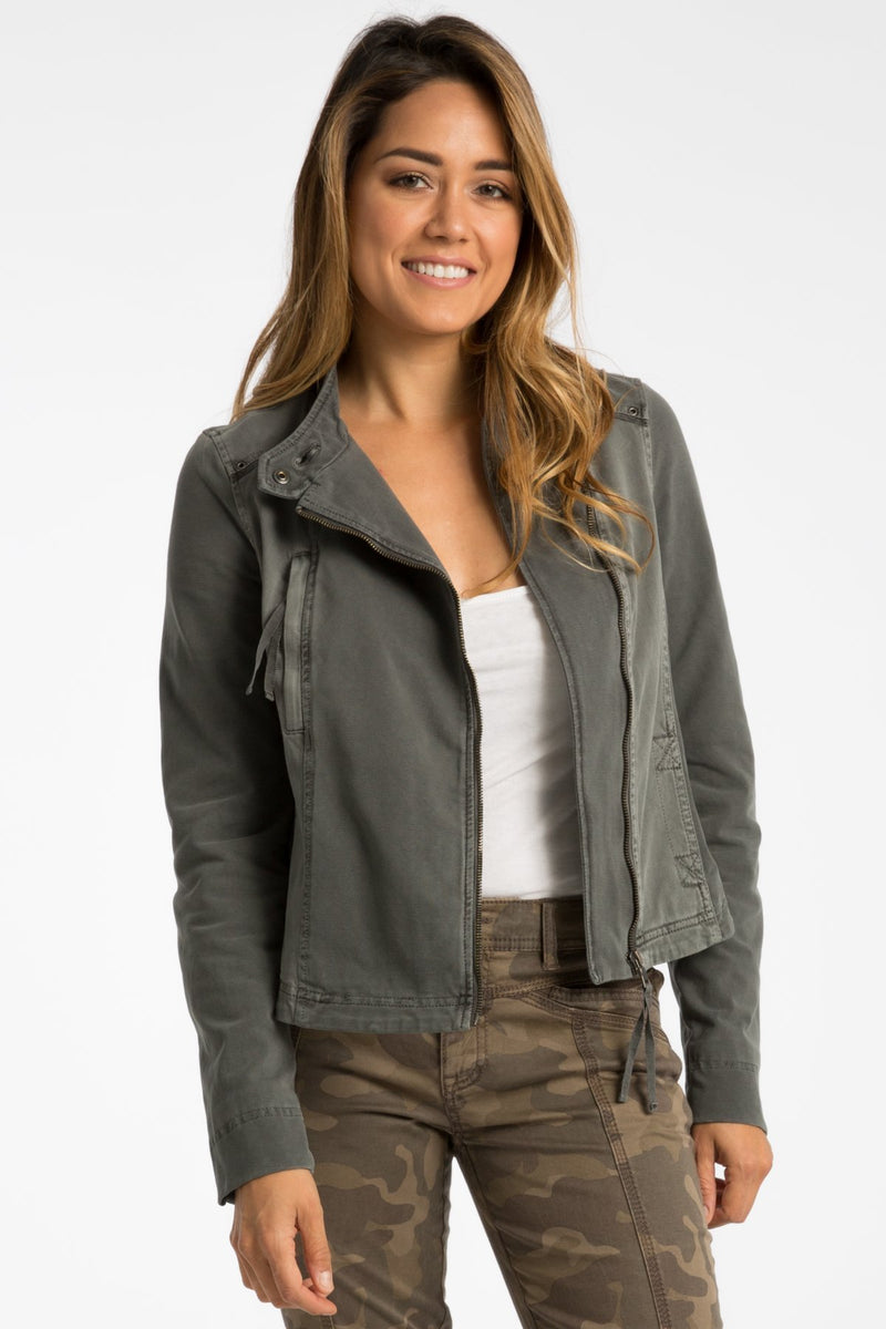 Ash Moto Jacket - Marrakech Clothing