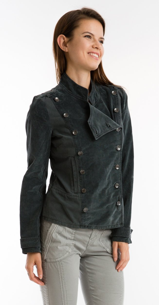 Shelly Military Cord Jacket - Marrakech Clothing