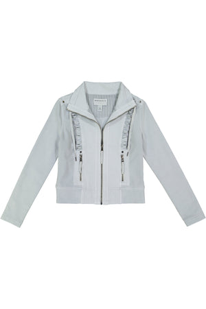 Pearl Ruffled Track Jacket - Marrakech Clothing