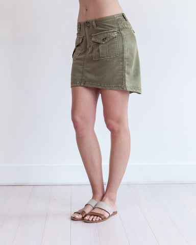 Visalia Mini Skirt Fern