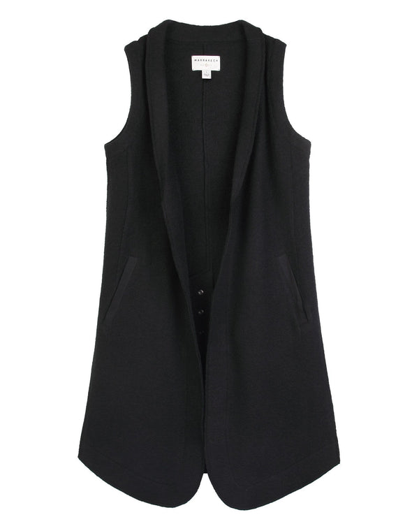Azure Wool Vest - Marrakech Clothing
