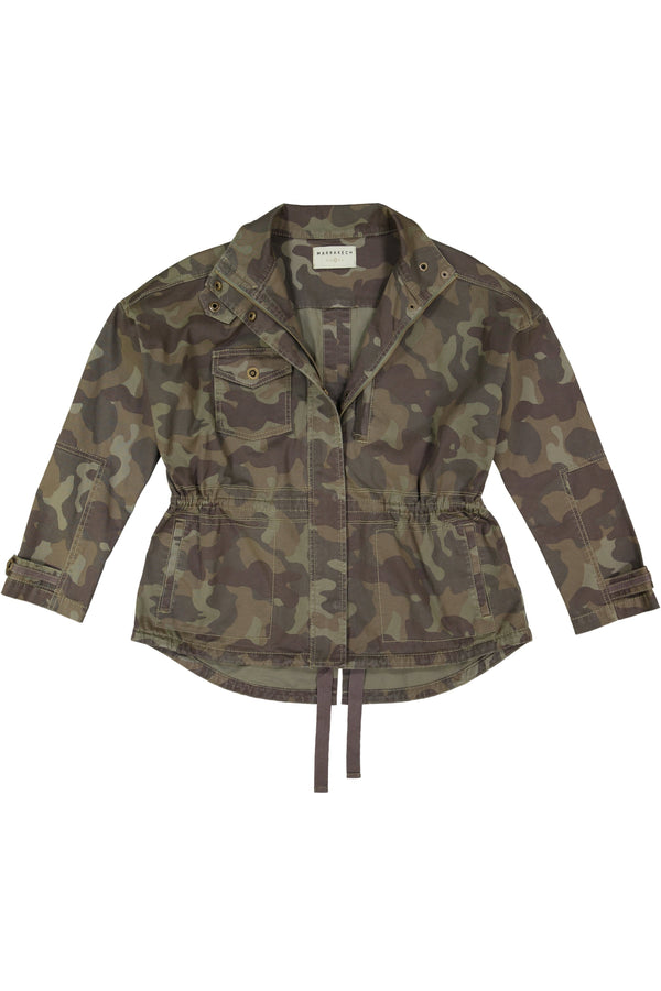Harper Camo Anorak Jacket - Marrakech Clothing